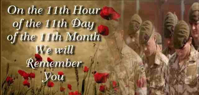 Happy veterans day 11th November